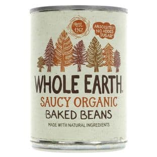 Whole Earth Baked Beans - Organic - 400g